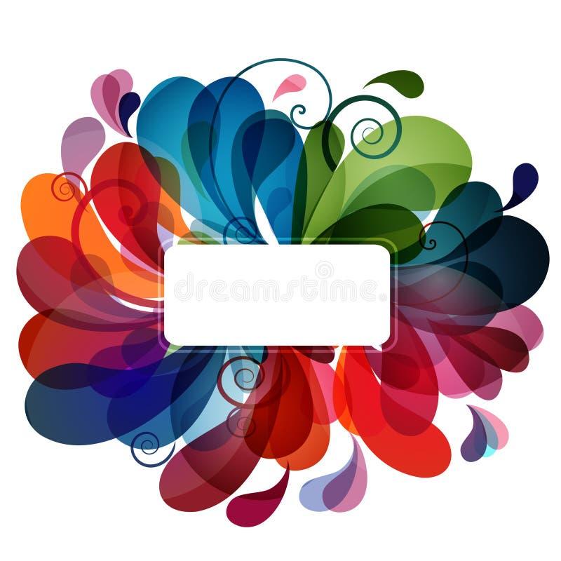 Fond abstrait coloré eps10 illustration libre de droits