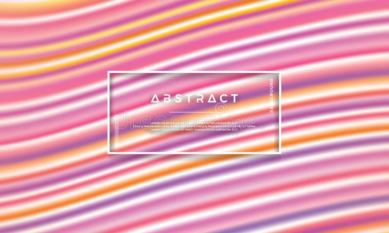 Fond abstrait coloré et à la mode de vecteur Fond coloré de texture illustration stock