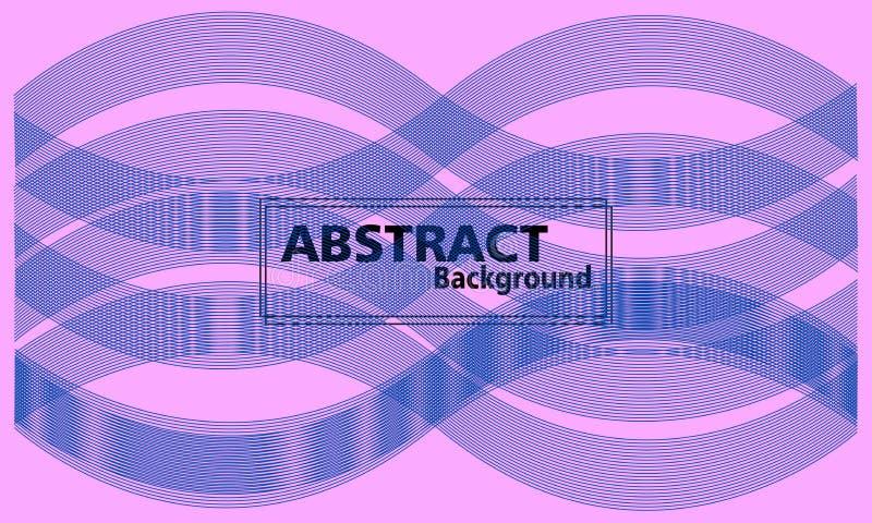 Fond abstrait color? écoulement et fond dynamique de forme illustration libre de droits