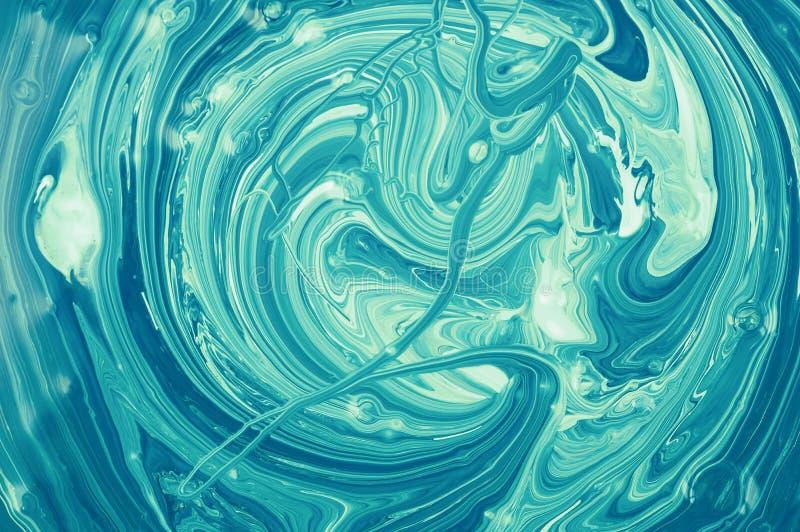 Fond abstrait color? Art moderne Texture acrylique liquide photos stock