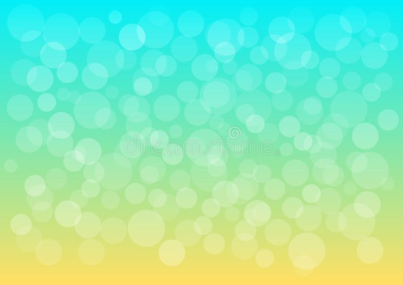 Fond abstrait d?coratif color? d'?t? Vecteur illustration libre de droits