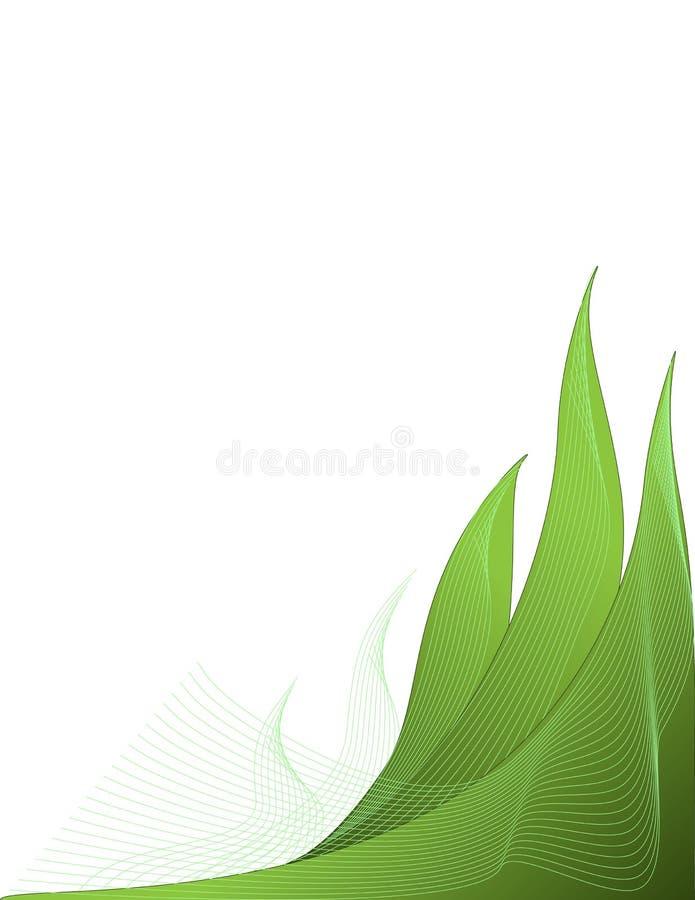 Fond abstrait d'été de ressort d'herbe verte images stock