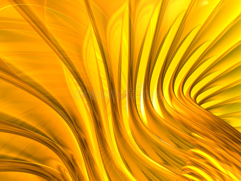 Fond abstrait d'or photographie stock