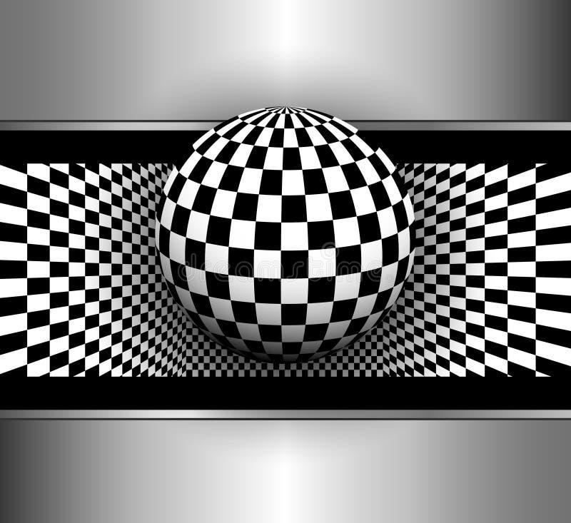 Fond abstrait 3D illustration stock