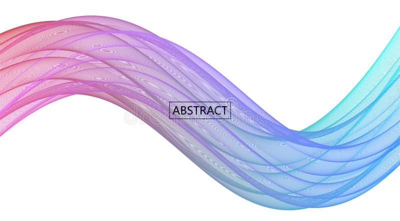 Fond abstrait d'amplitude illustration stock