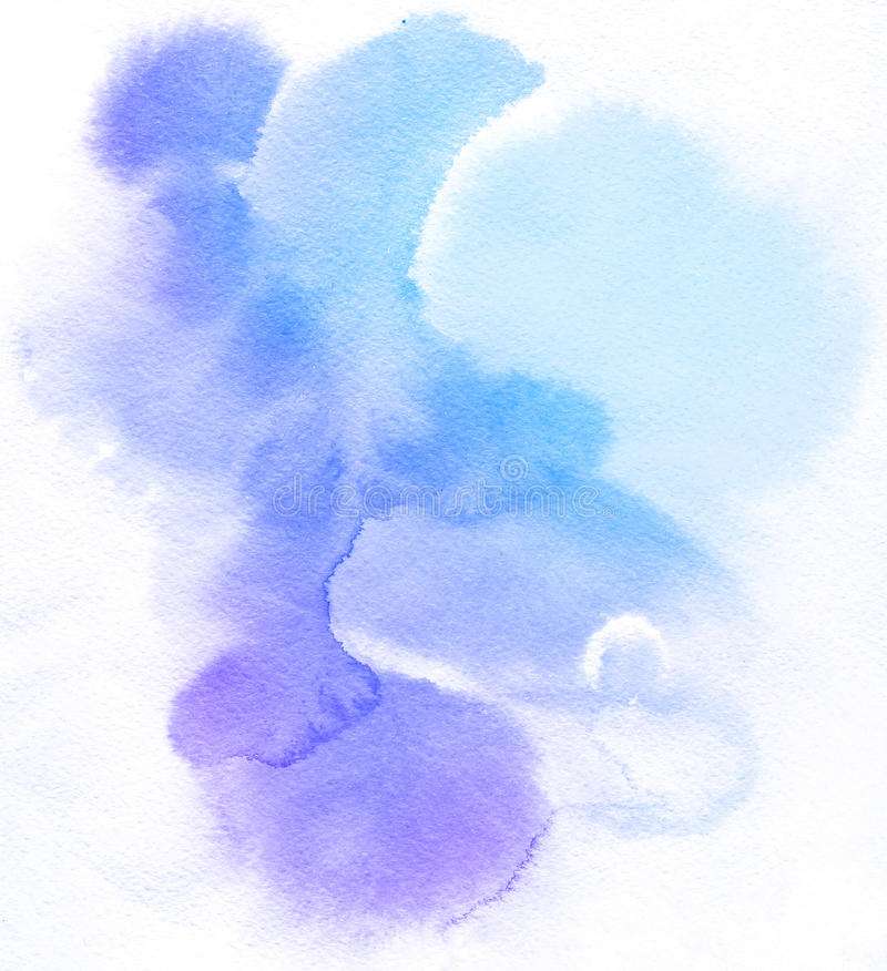 Fond abstrait d'aquarelle illustration libre de droits