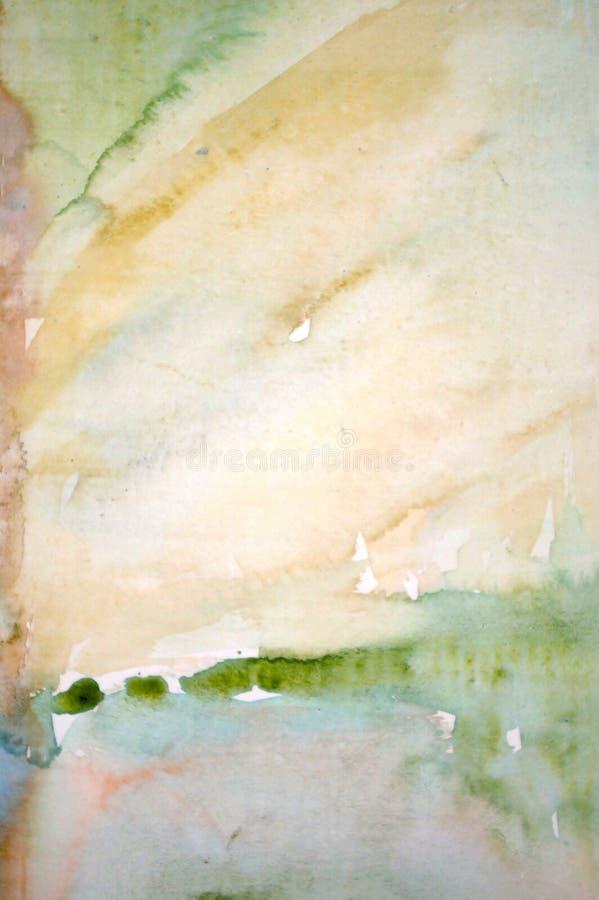 Fond abstrait d'aquarelle photographie stock