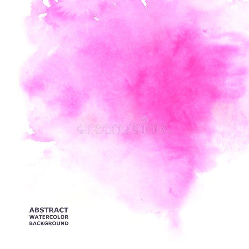 Download Fond abstrait d'aquarelle illustration stock. Illustration du lumineux - 56477758