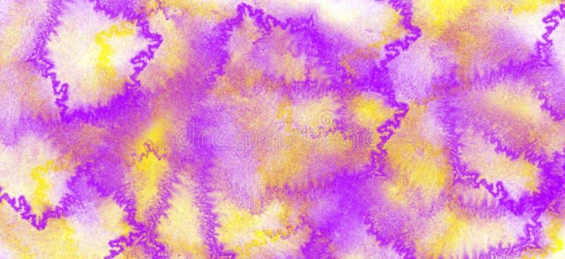Fond abstrait d'aquarelle Texture (de papier) froissée photographie stock