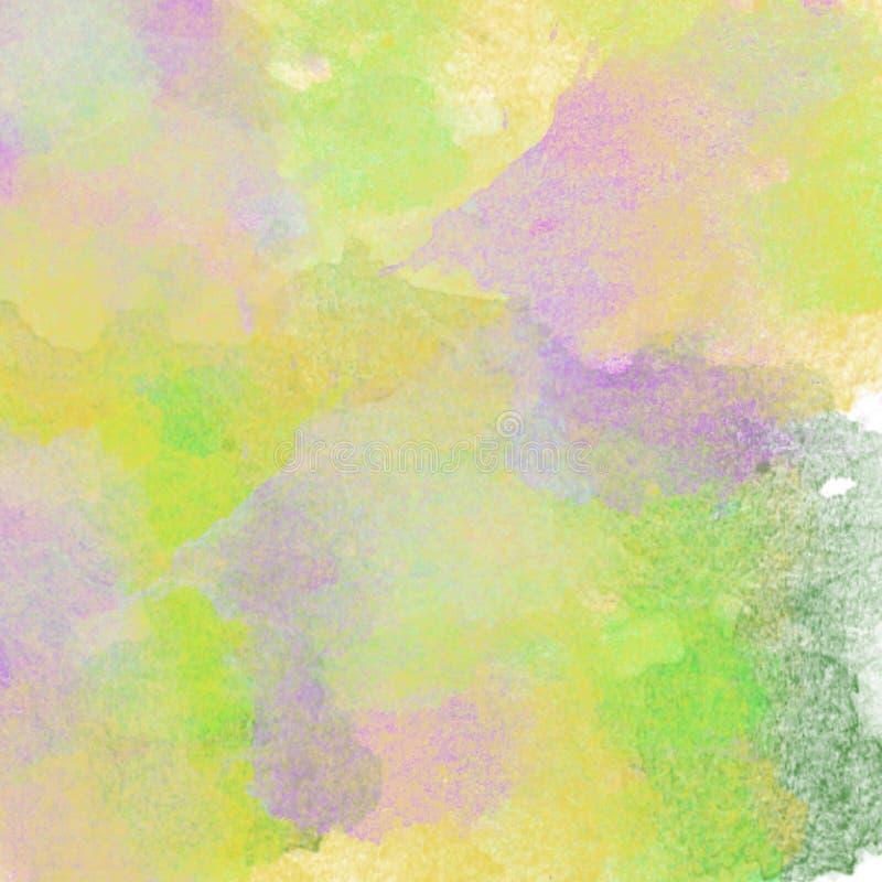 Fond abstrait d'aquarelle Texture (de papier) froissée photographie stock libre de droits
