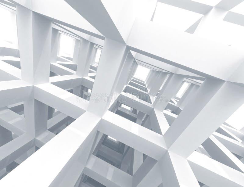 Fond abstrait d'architecture illustration stock