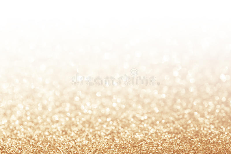 Fond abstrait d'or de scintillement photos stock
