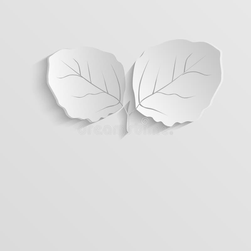 Fond abstrait d'eco. illustration de vecteur