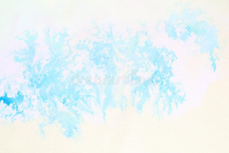Fond abstrait d'illustration de peinture de photo d'aquarelle de conception images stock
