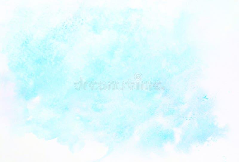 Fond abstrait d'illustration de peinture de photo d'aquarelle de conception image stock