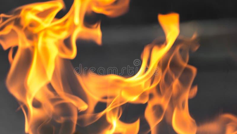 Fond abstrait d'une flamme du feu photographie stock