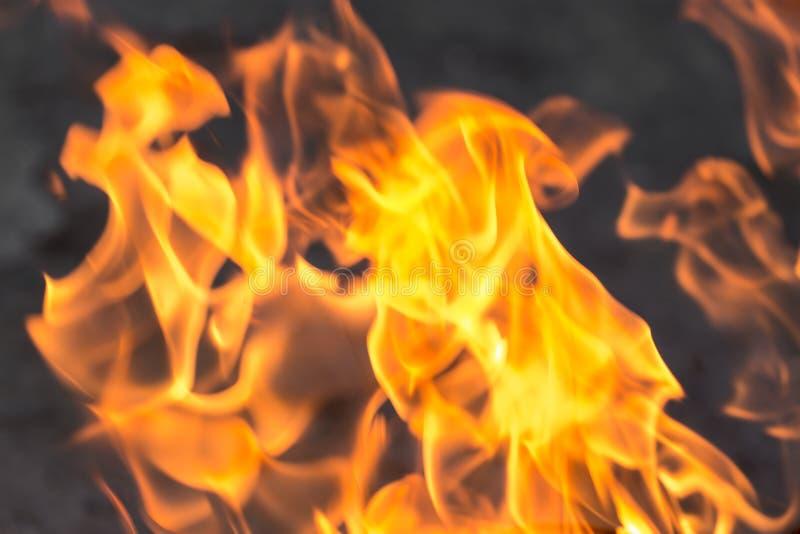 Fond abstrait d'une flamme du feu photo libre de droits