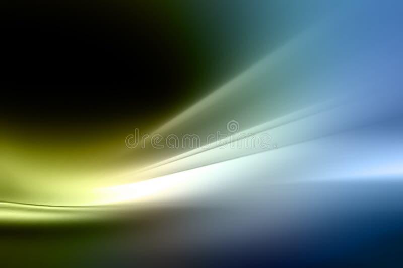 Fond abstrait dans bleu, vert et noir illustration stock