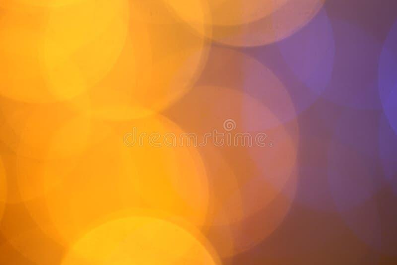 Fond abstrait de bokeh de Noël d'or de scintillement Contexte brouillé de lumières photo stock