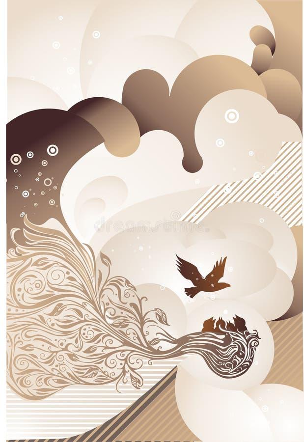 Download Fond abstrait de Brown illustration de vecteur. Illustration du brunâtre - 8668154
