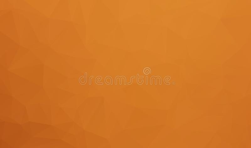 Fond abstrait de Brown des formes géométriques Fond polygonal de mosaïque, bas poly style, rétro fond de triangle MOIS coloré illustration de vecteur