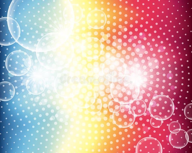 Fond abstrait de bulle illustration de vecteur