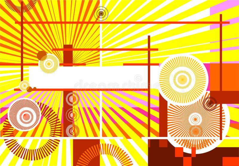 Fond abstrait de conception illustration libre de droits