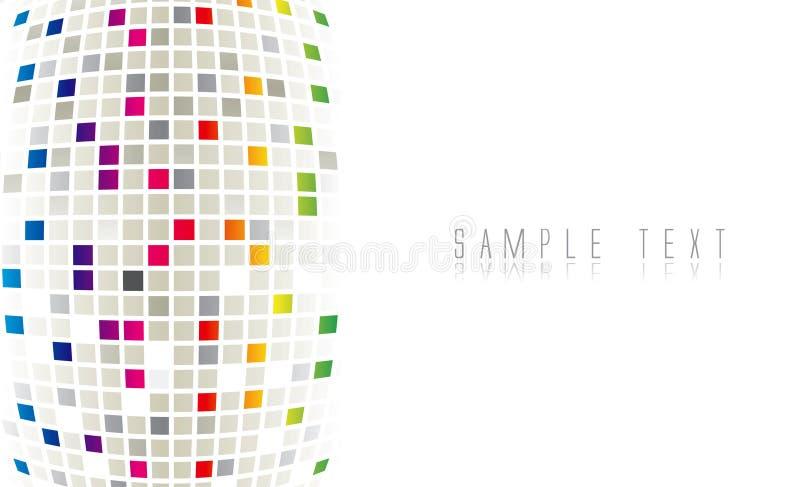 Fond abstrait de couleur illustration stock