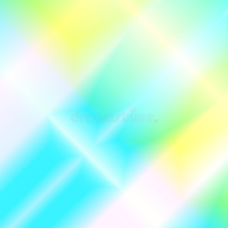Fond abstrait de couleurs avec la lumière d'arc-en-ciel illustration libre de droits