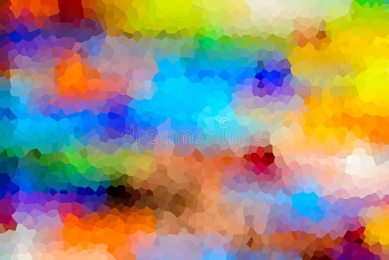 Fond abstrait de cristallisé images libres de droits