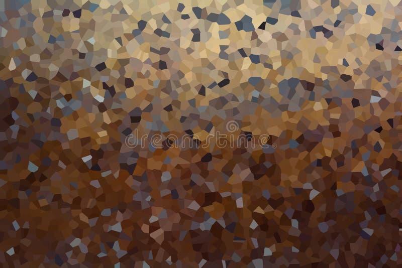Fond abstrait de cristallisé images stock