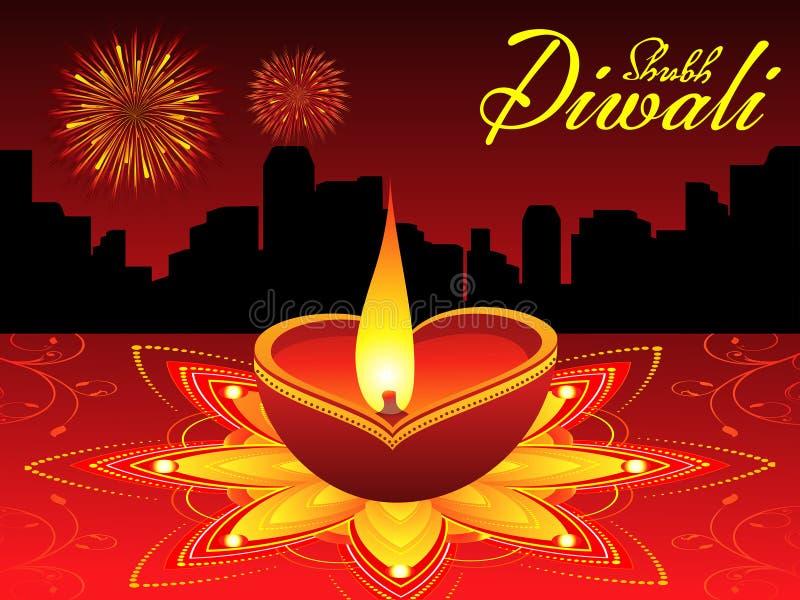 Fond abstrait de diwali