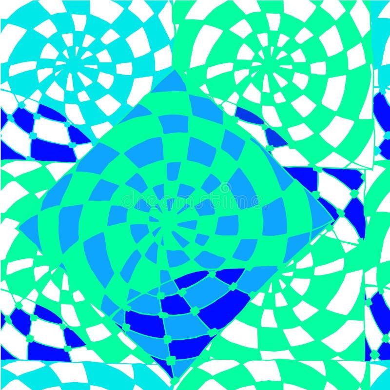 Fond abstrait de drawingl géométrique de modèles illustration libre de droits