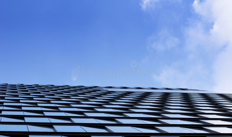 Fond abstrait de fenêtre de bâtiment photo stock