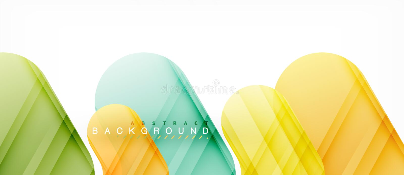 Fond abstrait de flèches brillantes colorées illustration libre de droits