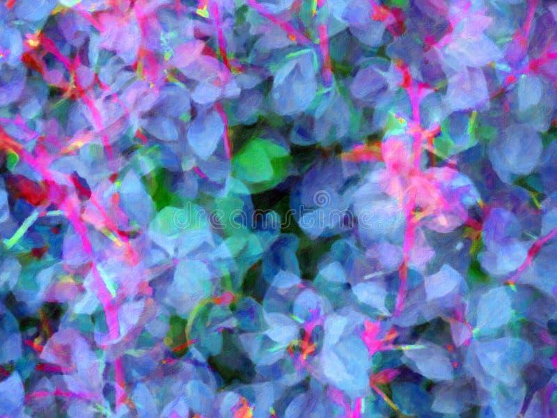 Fond abstrait de fleur image libre de droits
