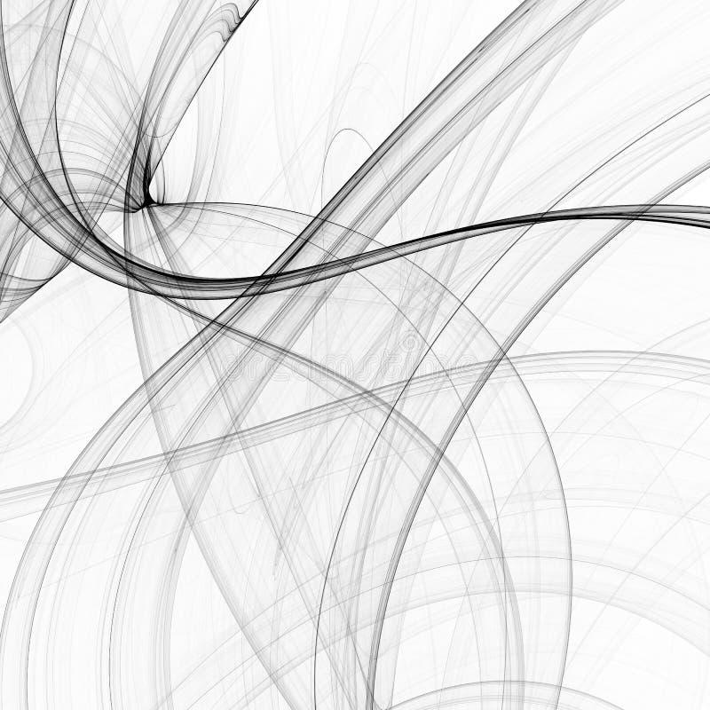 Fond abstrait de fractale illustration de vecteur