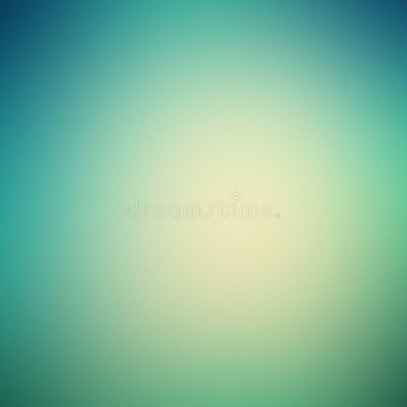 Fond abstrait de gradient avec des couleurs bleues et vertes illustration libre de droits