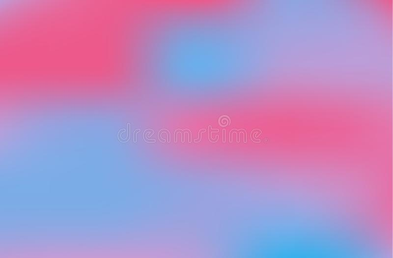 Fond abstrait de gradient Couleurs lumineuses brouillées, modèle coloré d'arc-en-ciel Formes liquides multicolores Illustration d illustration libre de droits