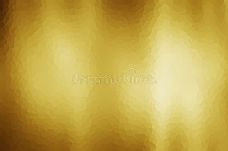 Fond abstrait de gradient d'or photo libre de droits