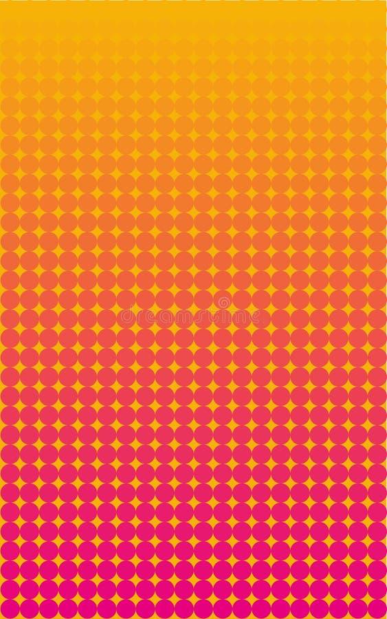 Fond abstrait de gradient Papier peint pour des écrans de périphérique mobile illustration stock