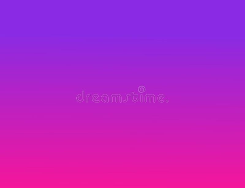 Fond abstrait de gradient papier peint de transition de couleur rose en plastique et fond pourpre de proton 2019 tendances de cou illustration stock