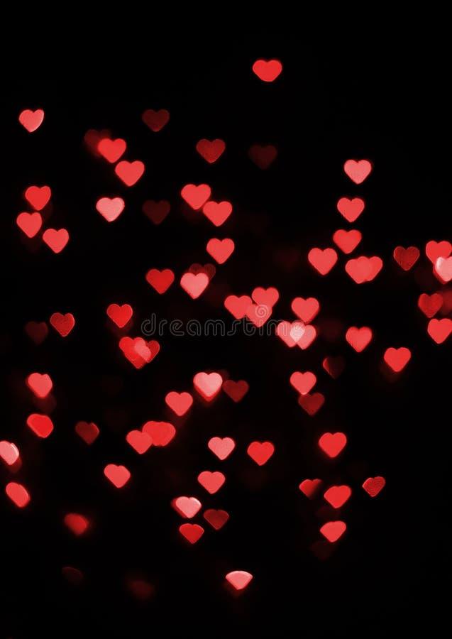 Fond abstrait de jour du ` s de Valentine images stock