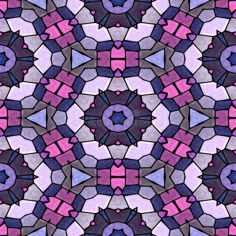 Fond abstrait de kaléidoscope Belle texture multicolore de kaléidoscope illustration stock