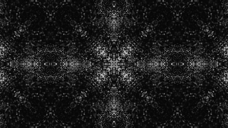 Fond abstrait de kal?idoscope Belle texture multicolore de kal?idoscope Conception unique et inimitable g?om?trique illustration stock