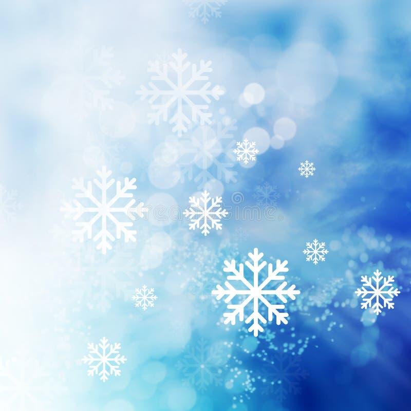 Fond abstrait de l'hiver photos libres de droits