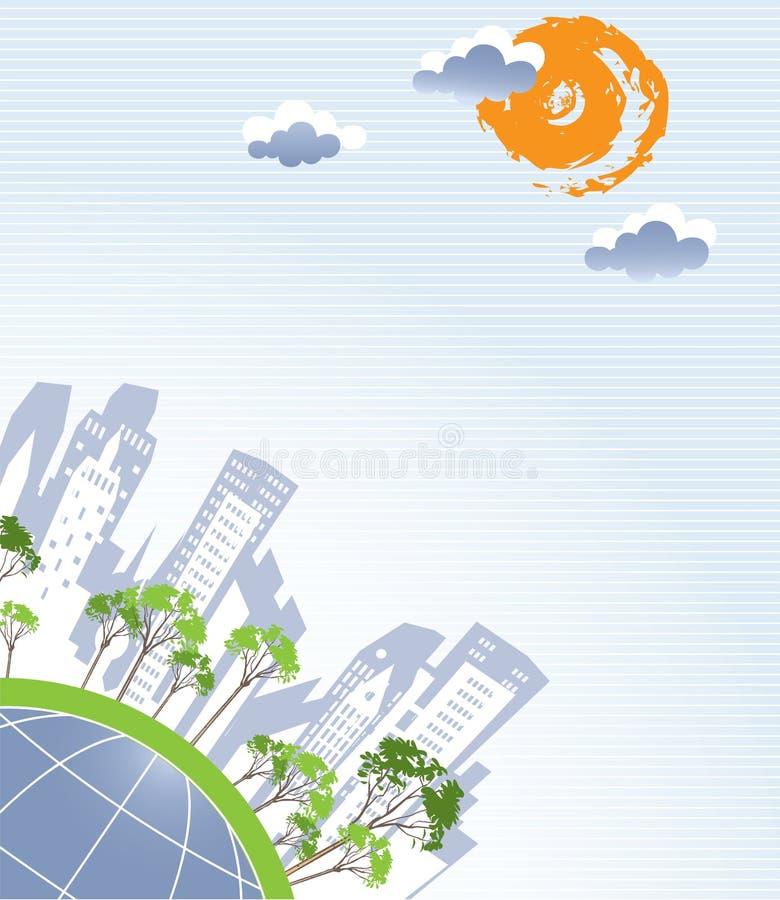 Fond abstrait de la terre illustration stock