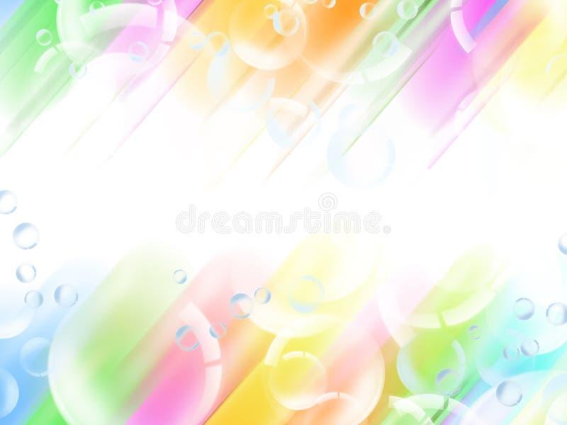 Fond abstrait de lumière de tache floue illustration stock
