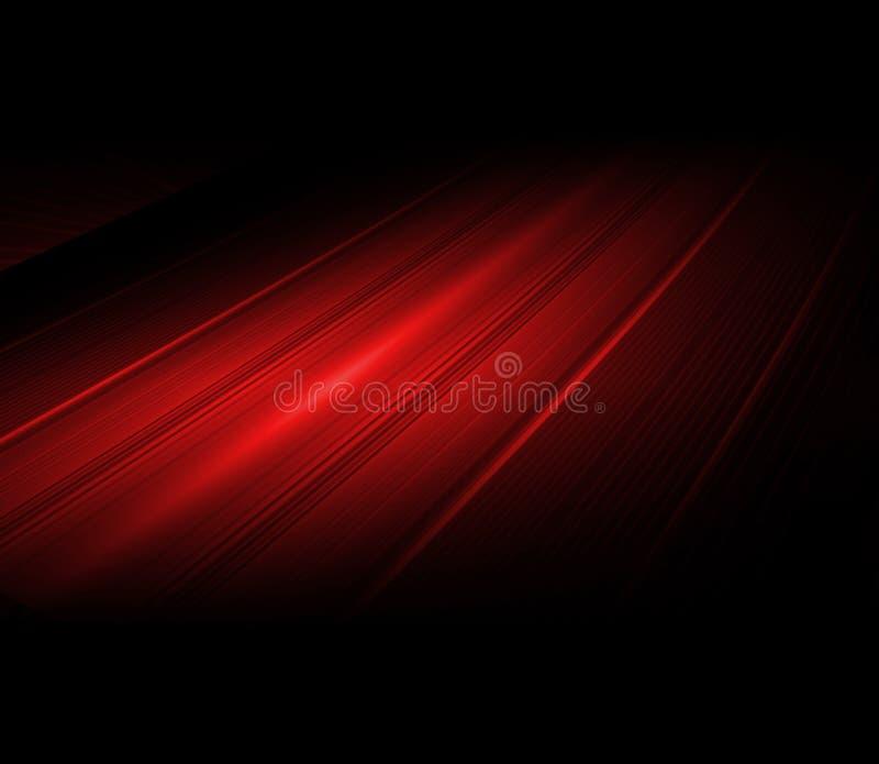 Fond abstrait de lumière rouge illustration libre de droits
