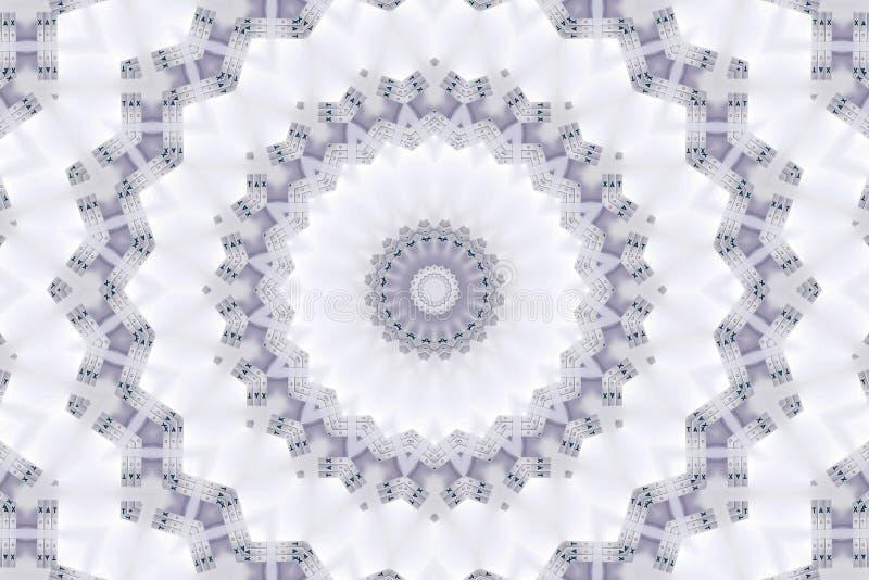 Fond abstrait de modèle de kaléidoscope photographie stock libre de droits